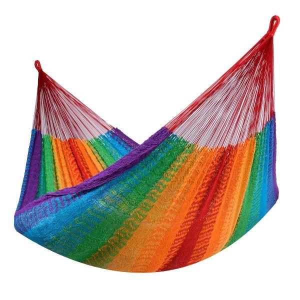 'Mexico' Rainbow Double Hammock
