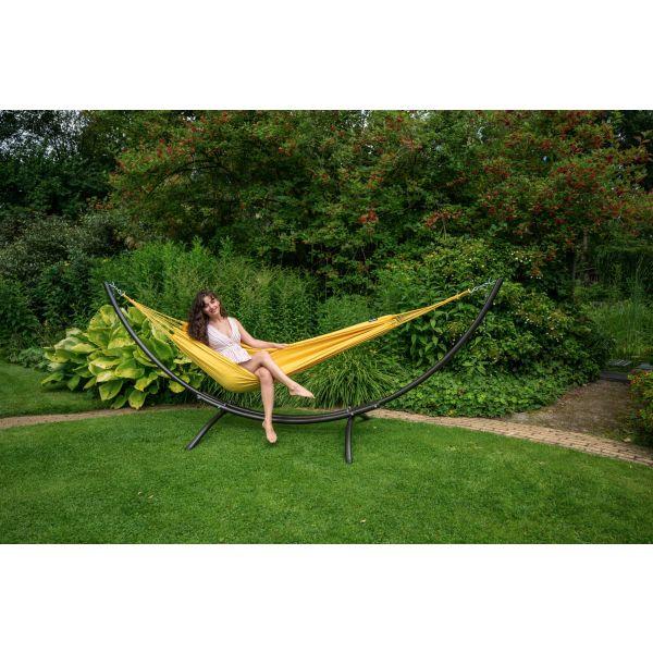 'Plain' Yellow Single Hammock