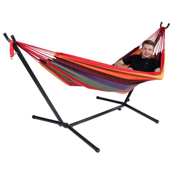 'Multi' Single Single Hammock with Stand