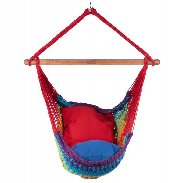 'Mexico' Rainbow Single Hanging Chair
