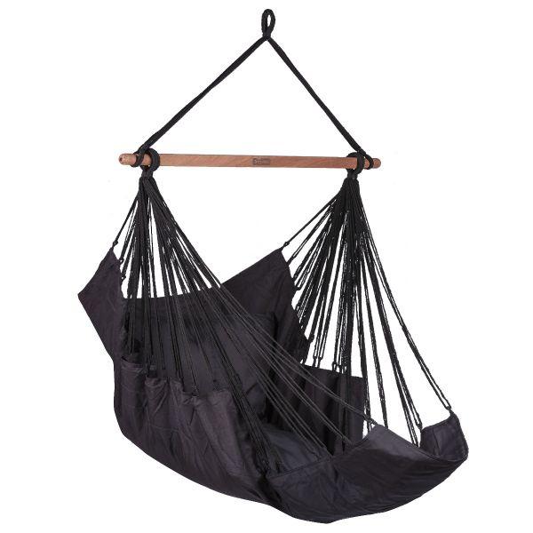 'Sereno' Black Single Hanging Chair