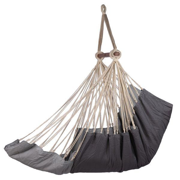 'Sereno' Grey Single Hanging Chair