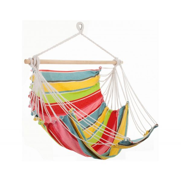 'Tropical' Orient Lounge Single Hanging Chair