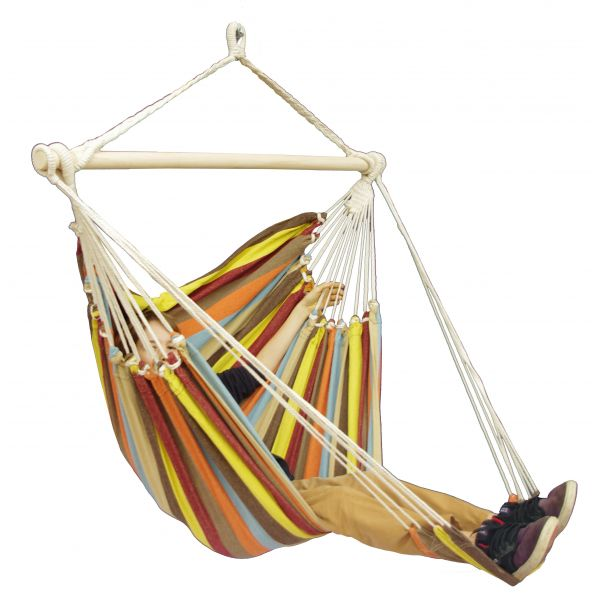 'Tropical' Autumn Lounge Single Hanging Chair