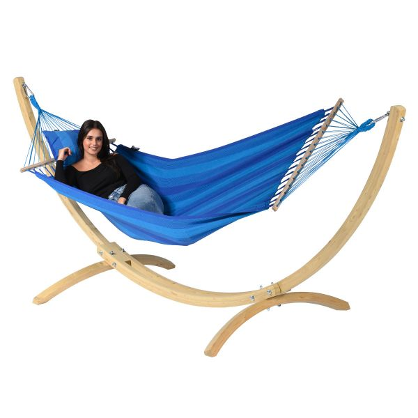 'Relax' Blue Single Hammock